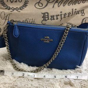 Mini leather Coach purse